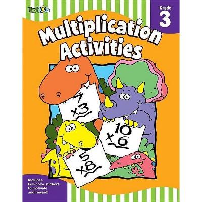 Multiplication Activities: Grade 3 (flash Skills) - (paperback) : Target