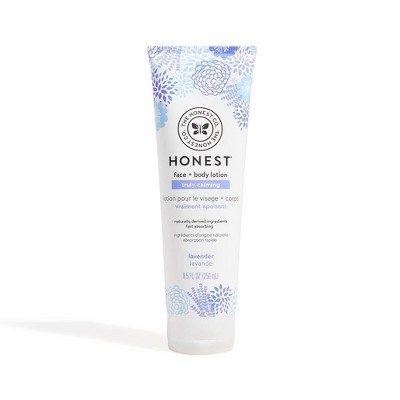 The Honest Company Face & Body Lotion Lavender 8.5oz