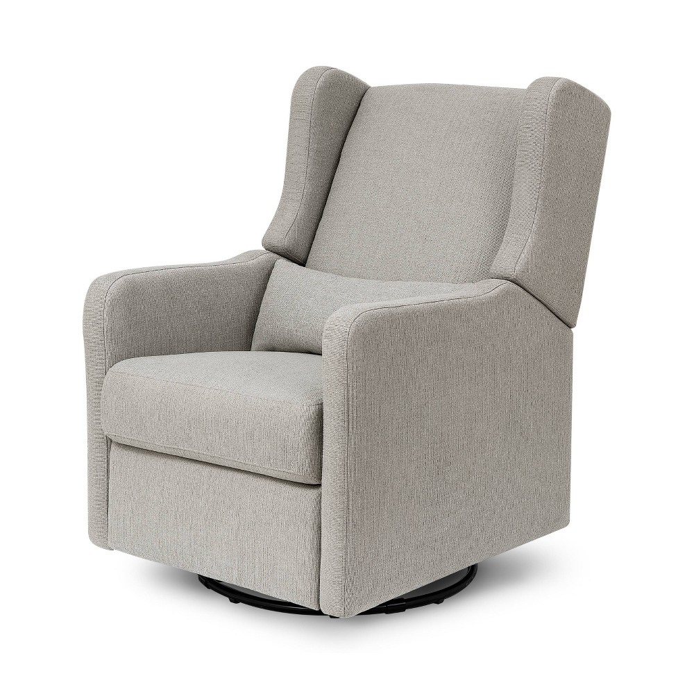 Image of Carter's by DaVinci Arlo Recliner and Swivel Glider Performance - Gray Linen
