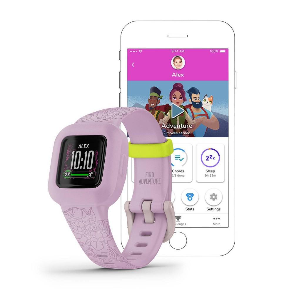 Garmin Vivofit Jr 3 Activity Tracker Floral Pink
