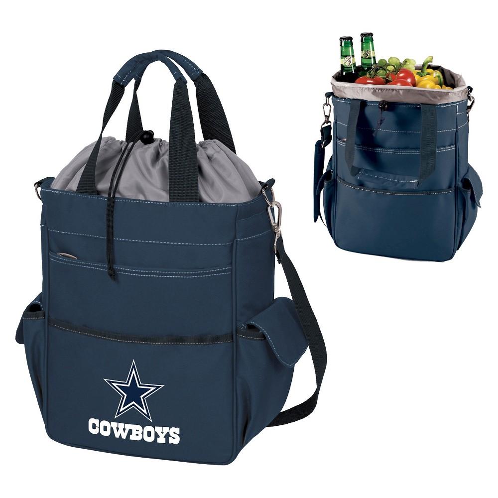 Dallas Cowboys Activo Cooler Tote By Picnic Time Navy