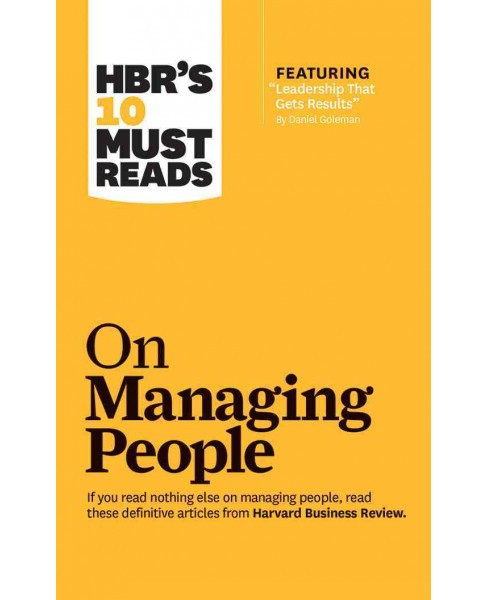 HBR's 10 Must Reads on Managing People (Vol 7) (Unabridged) (CD/Spoken Word) (W. Chan  Kim) - image 1 of 1
