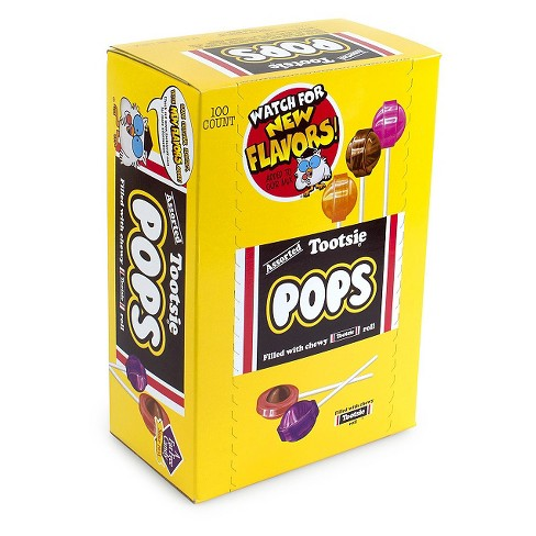 Tootsie Roll Pops Assorted Lollipops - 100ct - image 1 of 3