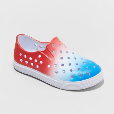 Toddler Boys' Jese Americana Blown EVA Slip On Shoes - Cat & Jack™ Red