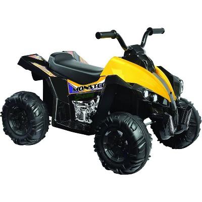 Kid Motorz 12V Monster Quad Powered Ride-On - Black