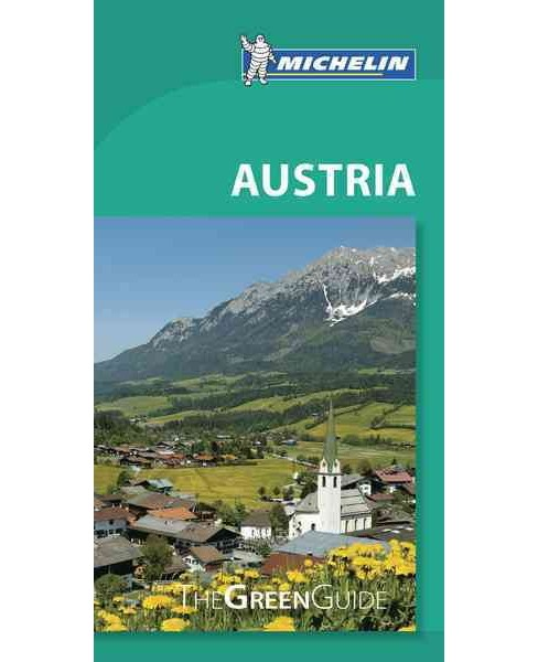 Michelin Green Guide Austria (Paperback) - image 1 of 1