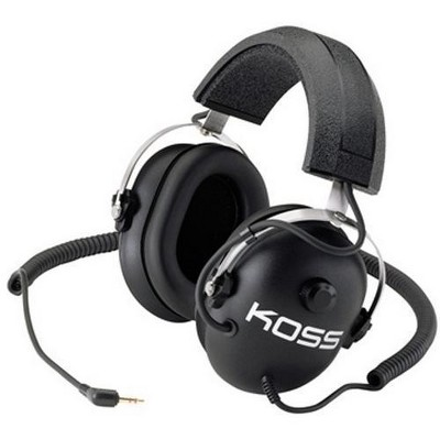Koss QZ-99 Technology Stereo Headphone - Wired - 60 Ohm - 40 Hz 20 kHz - Gold Plated Connector - Binaural - Ear-cup - 8 ft Cable
