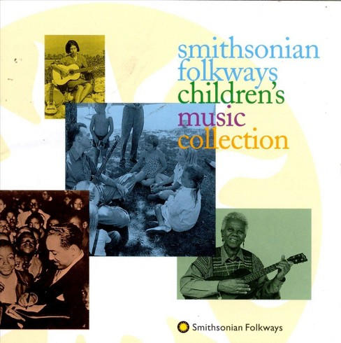 Smithsonian folkways - Children's music collection (CD) - image 1 of 2