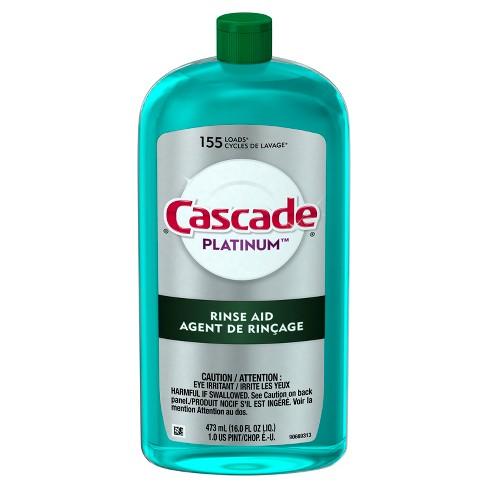 Cascade Platinum Rinse Aid 16oz