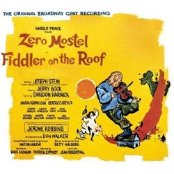 Zero Mostel - Fiddler On The Roof (OCR)(Original 1964 Broadway Cast Recording) (CD)
