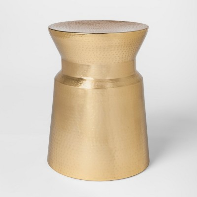 Gold Hammered Accent Table   Project 62™