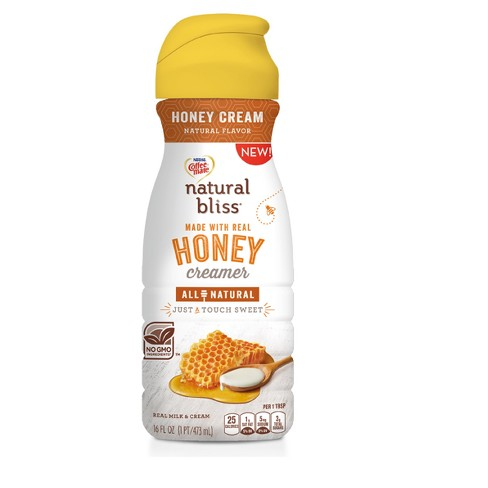 Nestle Coffee-Mate Honey Cream Flavored All Natural Creamer - 16 fl oz - image 1 of 1