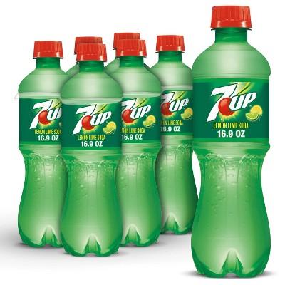 7UP Soda - 6pk/0.5 L Bottles