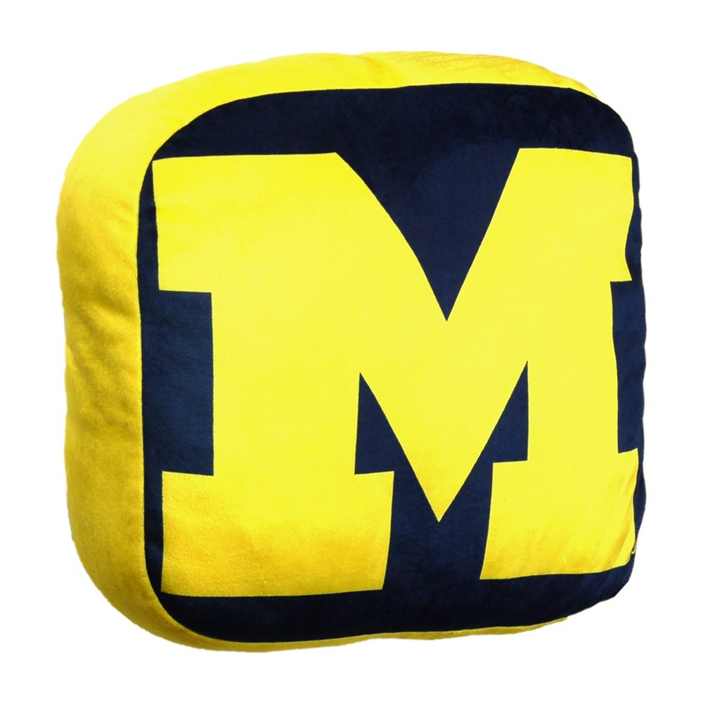 NCAA Michigan Wolverines Cloud Pillow