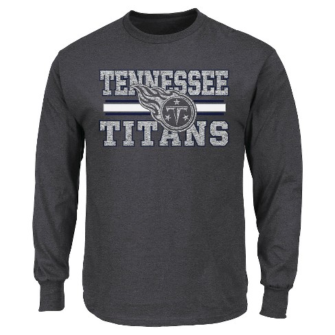 Tennessee Titans Men's T-Shirt S Long Sleeve - image 1 of 1