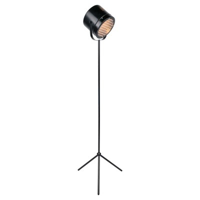 Lucine Floor Lamp Black (Includes CFL Light Bulb) - Lite Source
