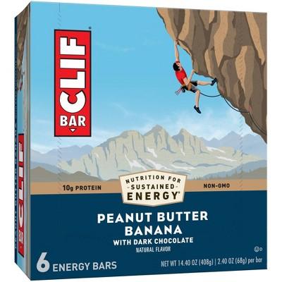 CLIF Bar Peanut Butter Banana with Dark Chocolate