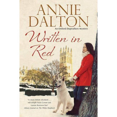 Written in Red - (Anna Hopkins Mystery) by  Annie Dalton (Hardcover) - image 1 of 1