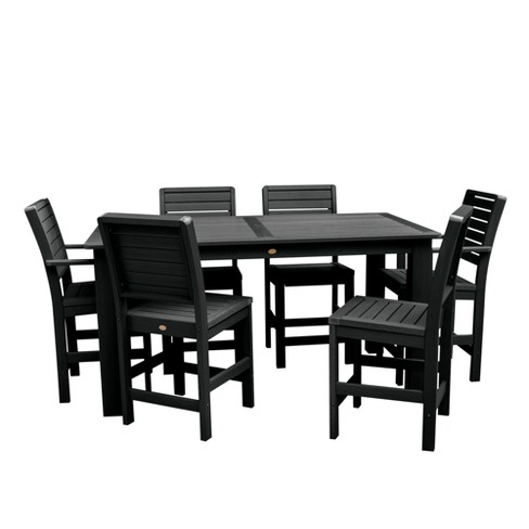 Weatherly 7pc Rectangular Counter Height Dining Set 72X42 - Highwood - image 1 of 6