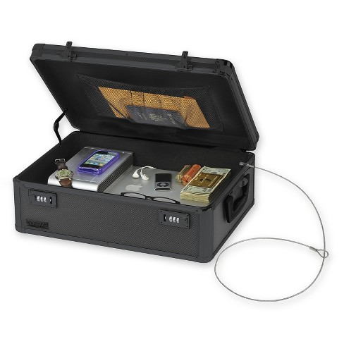 Vaultz® Locking Storage Chest - Tactical Black - image 1 of 3