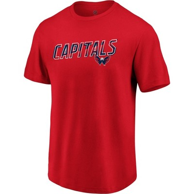 NHL Washington Capitals Men's Engage Horizon Short Sleeve T-Shirt