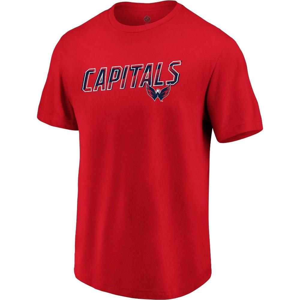Nhl Washington Capitals Men 39 S Engage Horizon Short Sleeve T Shirt Xxl