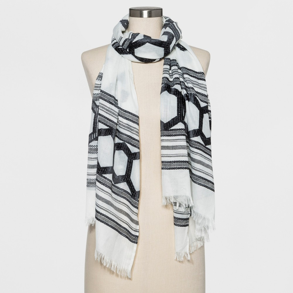 Women's Oblong Scarf - Universal Thread Cream (Ivory)