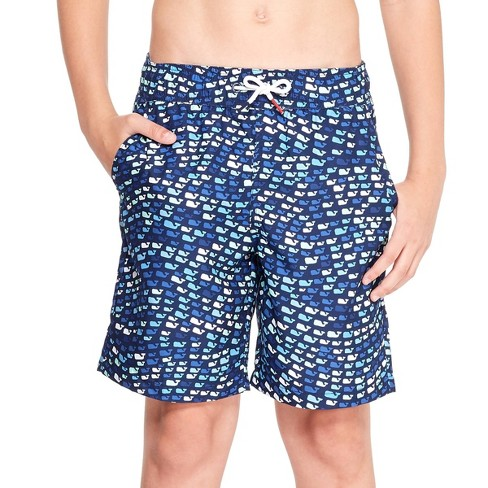 7120b2256a8a8 Boys' School Of Whales Swim Trunks - Blue - Vineyard Vines® For Target :  Target