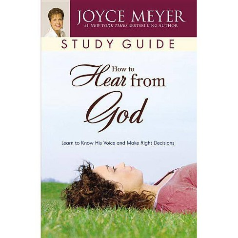 How to Hear from God Study Guide - by  Joyce Meyer (Paperback) - image 1 of 1