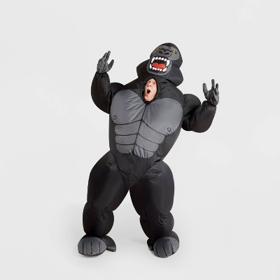 Adult Inflatable Gorilla Halloween Costume One Size - Hyde & EEK! Boutique™