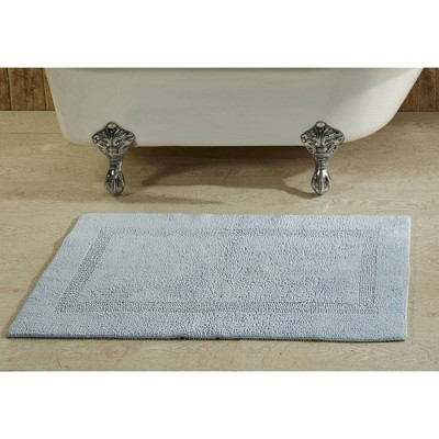 """21""""x34"""" Lux Collection Bath Rug Blue - Better Trends"""