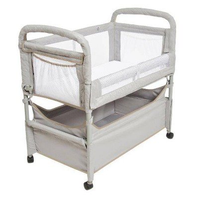 Arm's Reach Clear-Vue Co-Sleeper Bassinet - Gray