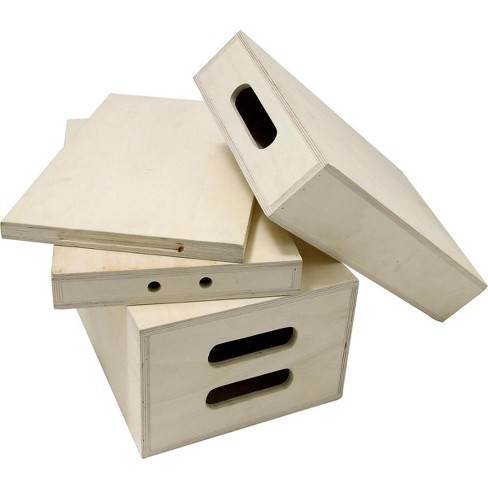 Kupo 20x12x8  Wooden Apple Box, Full, Natural - image 1 of 3