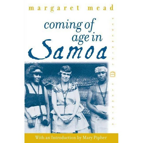 Coming of Age in Samoa - (Perennial Classics) by  Margaret Mead (Paperback) - image 1 of 1