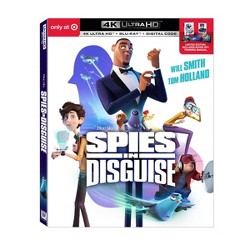 Spies In Disguise (Target Exclusive) (4K/UHD)
