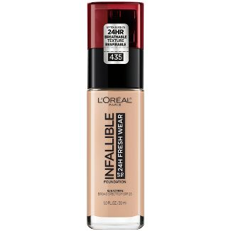 Infallible 24HR Fresh Wear Foundation 435 Rose Vanilla - 0.17 fl oz
