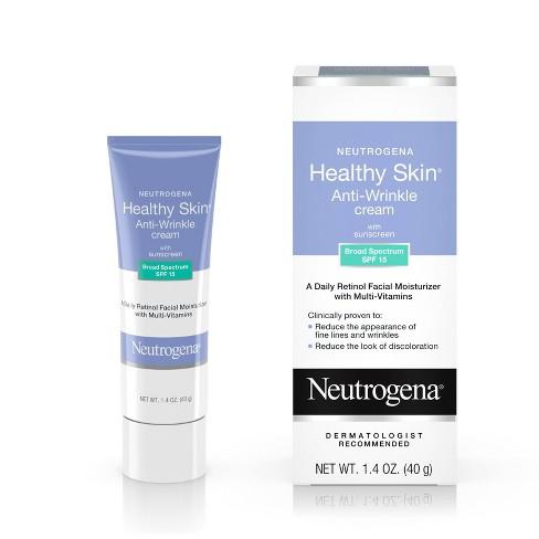 Neutrogena Healthy Skin Retinol & Anti Wrinkle Face Cream - SPF 15 - 1.4oz - image 1 of 4