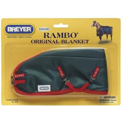 Breyer Animal Creations Breyer 1:9 Traditional Series Model Horse Accessory: Rambo Blanket