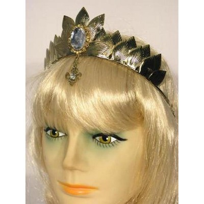 HMS Oz Witch Metal Costume Crown Adult: Gold