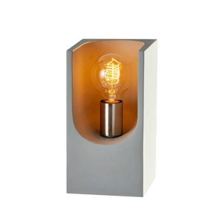 """10.5"""" Clyde Table Lantern Steel - Adesso"""
