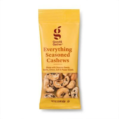 Everything Seasoned Cashews - 1.5oz - Good & Gather™