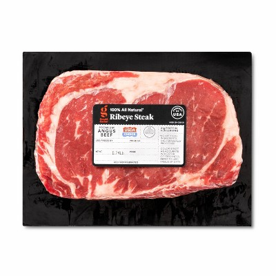 USDA Choice Angus Beef Ribeye Steak - 0.68-1.13 lbs - price per lb - Good & Gather™
