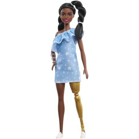 Barbie Fashionistas Doll - Star Print Dress - image 1 of 4