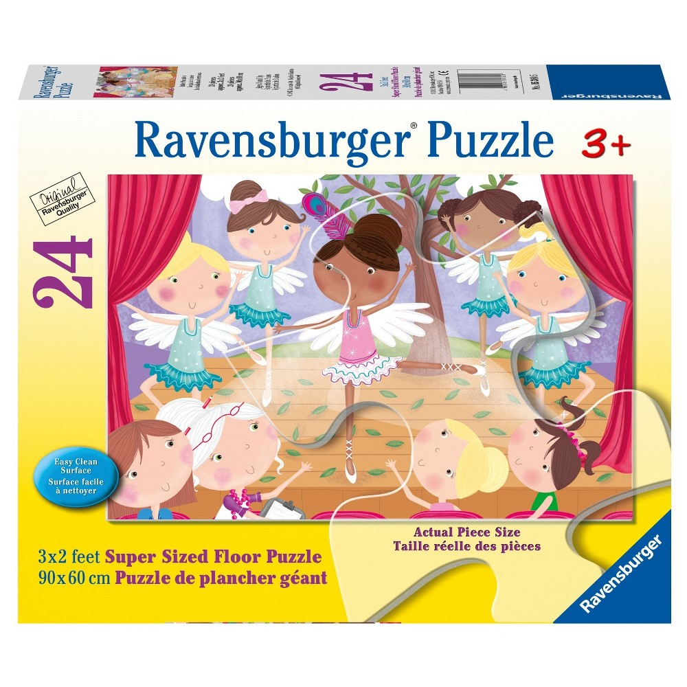 Ravensburger Ballet Beauties - 24pc Super Sized Floor Puzzle