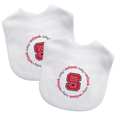 NCAA NC State Wolfpack Baby Bib 2pk