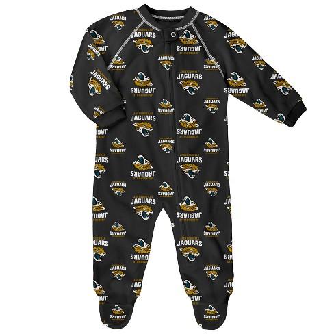 Jacksonville Jaguars Newborn-Infant Blanket Zip-Up Sleeper 0-3M - image 1 of 1