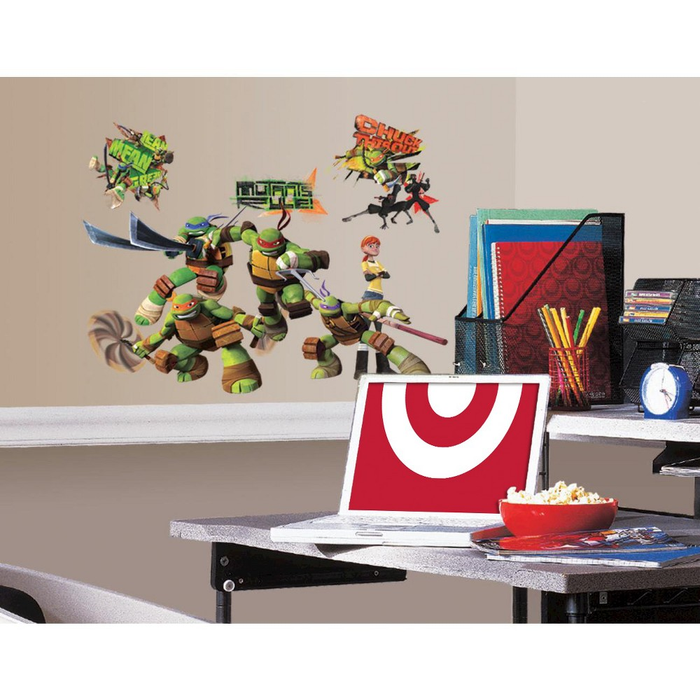 Image of RoomMates Teenage Mutant Ninja Turtles Peel & Stick Wall Decals