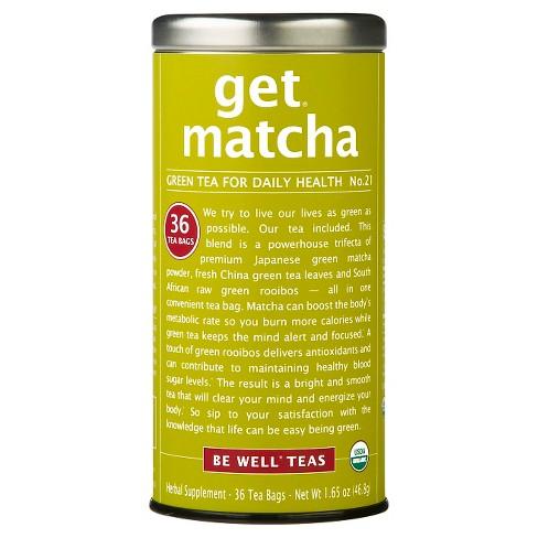 The Republic Of Tea Get Matcha Bags 36ct