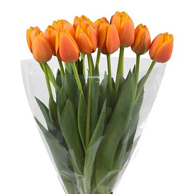 Fresh Cut Orange Tulips - 15ct