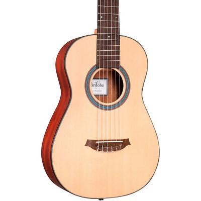 Cordoba Mini II Padauk Small Body Classical Guitar Natural